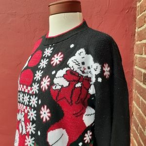 Cats and Kittens Ugly Christmas Sweater Vintage